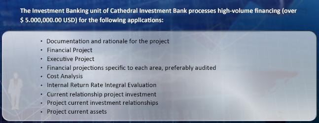 Evaluación Financiamiento